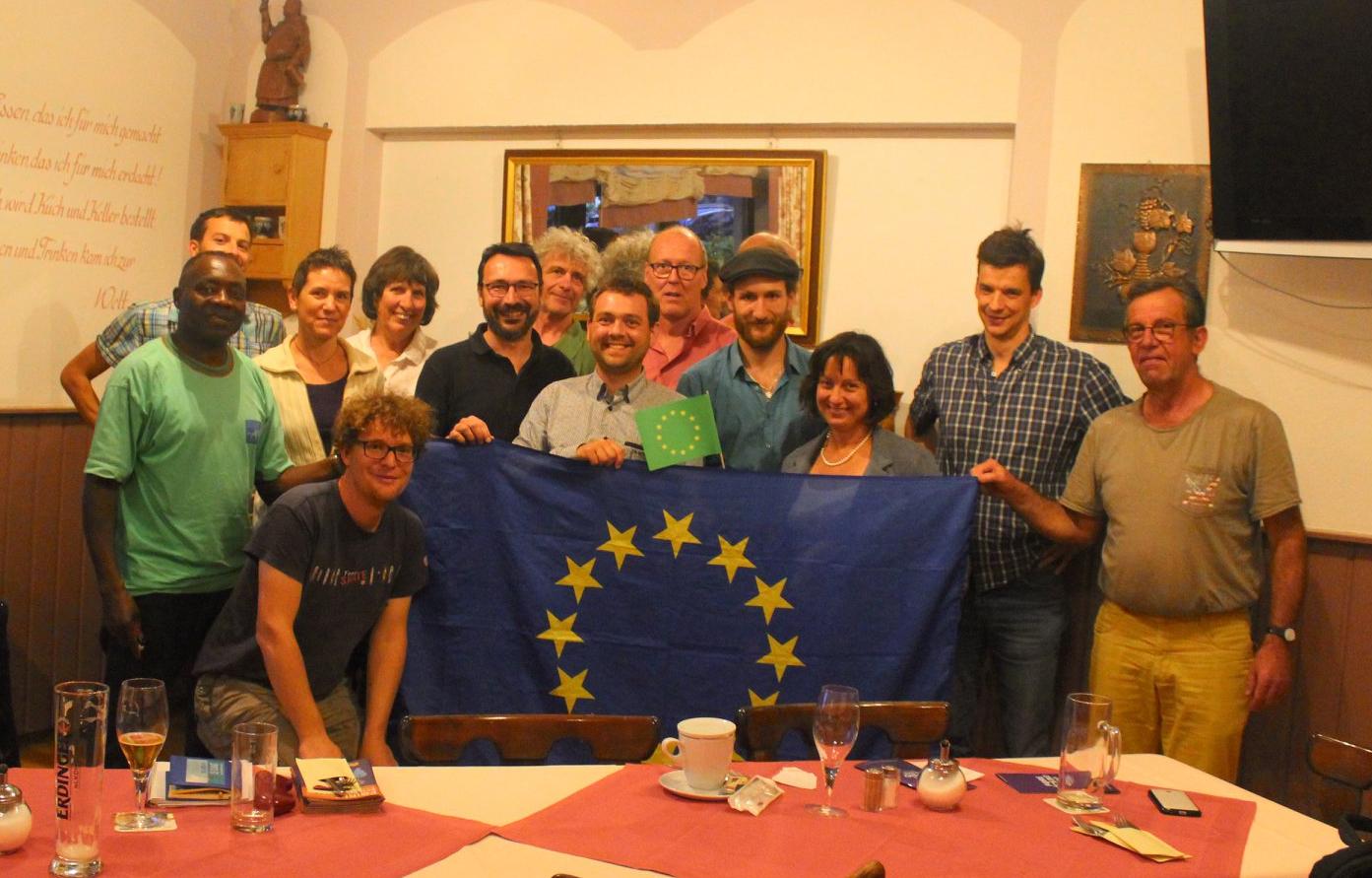 Treffen mit Französischen und Freiburger Grünen