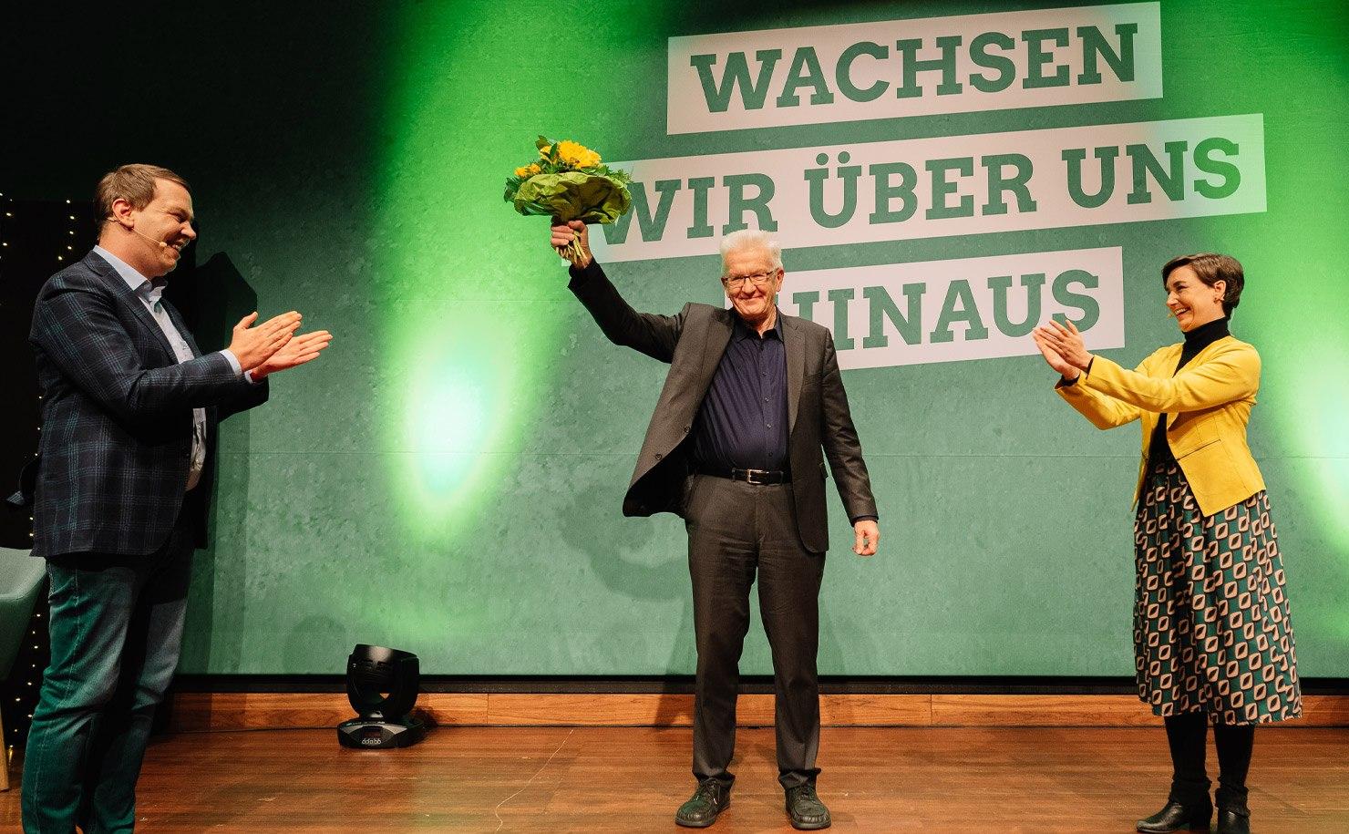 """""""Wachsen wir über uns hinaus"""" – mit Kretschmann als Spitzenkandidat"""
