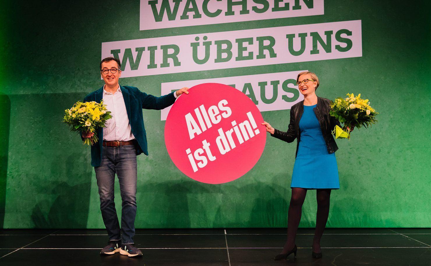 Vielfältig, jung, leidenschaftlich: Unser Team für die Bundestagswahl steht – mit Franziska und Cem an der Spitze